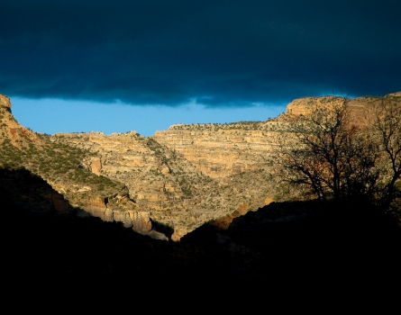 Retreating-Storm-Capitol-Reef-National-Park,-UT