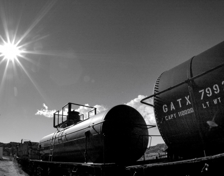 Tanker-Train-Campo,-CA