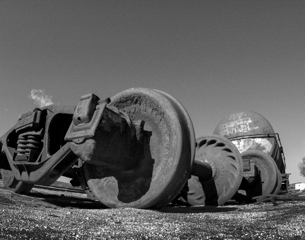 Train-Wheels-Campo,-CA