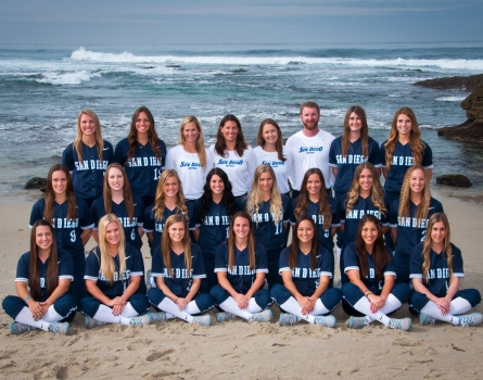University-of-San-Diego-Softball-Team-San-Diego,-CA