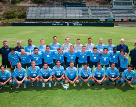 University-of-San-Diego-Men's-Soccer,-San-Diego,-CA